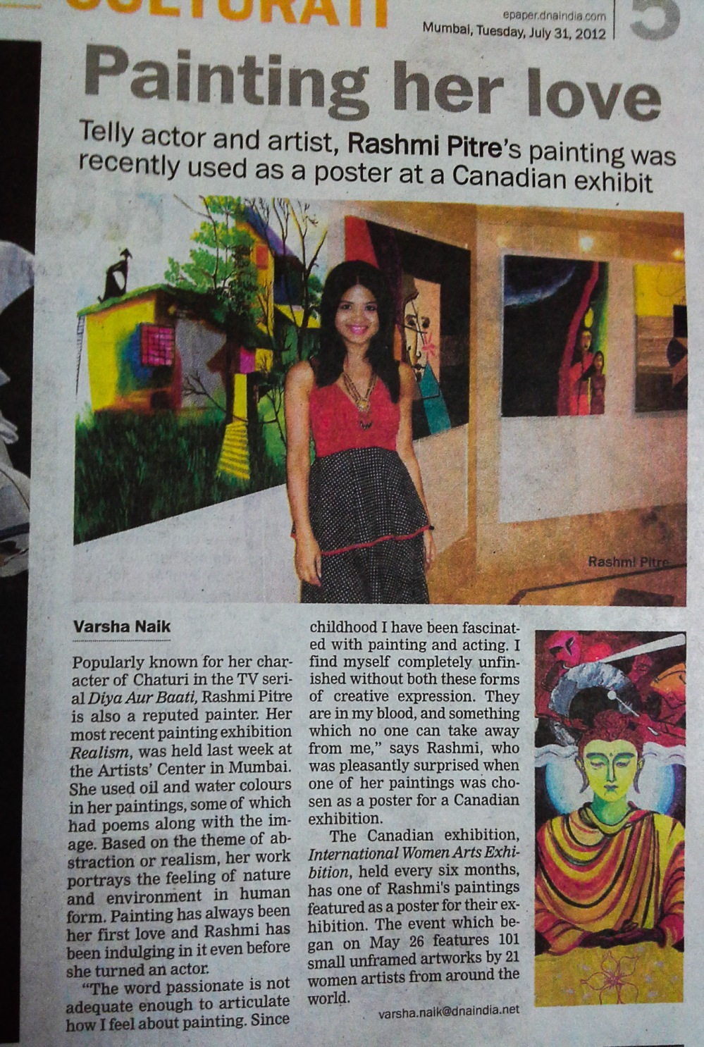 An Interview in DNA about the Canada